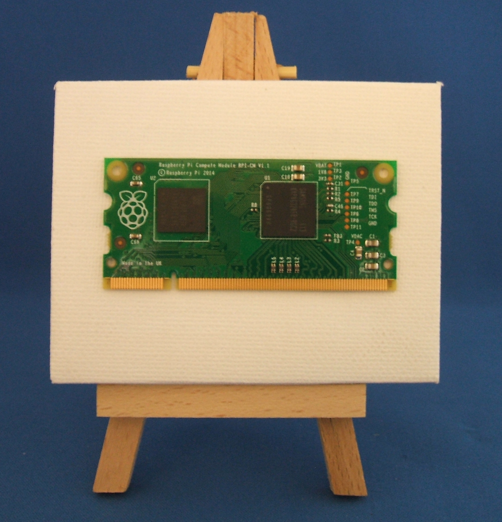Pi Compute Module on an Easel