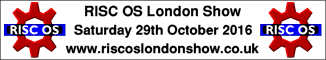 RISC OS London Show 2016