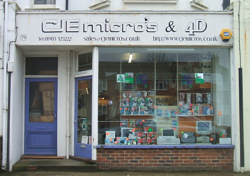 Photo of CJE Micro's shopfront